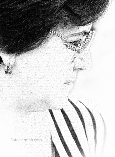 Retrato Dibujo Digital a Lápiz